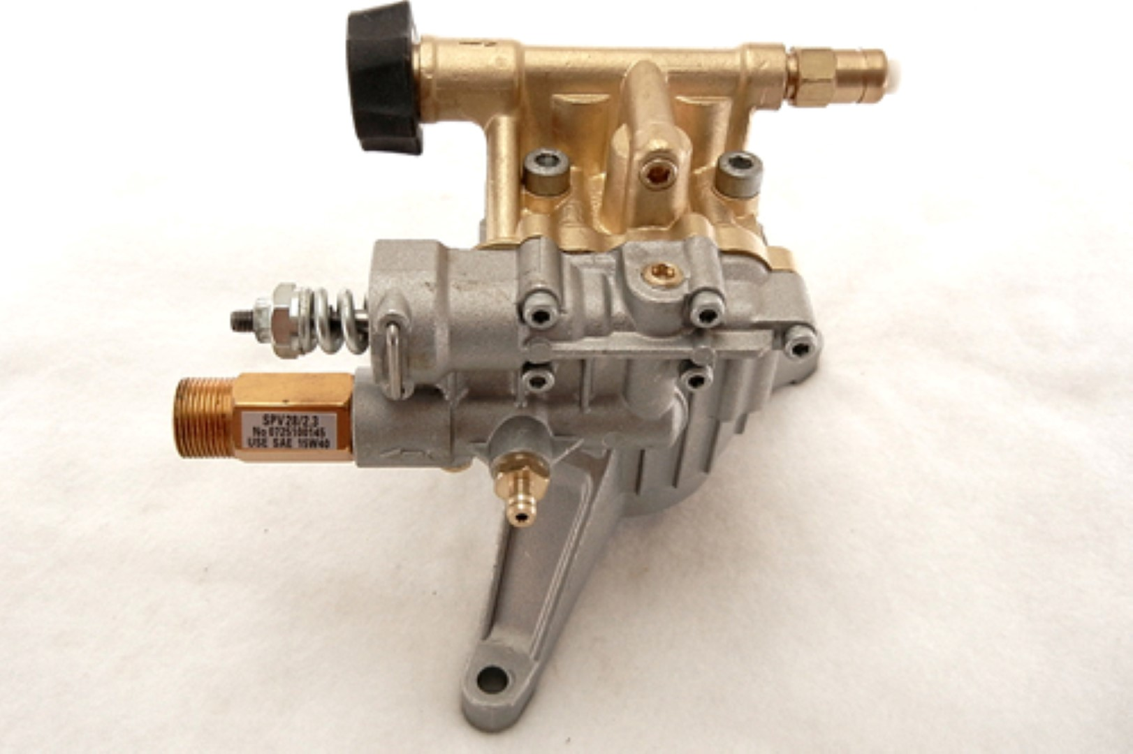 Vertical Pressure Washer Pump (Brass Head)