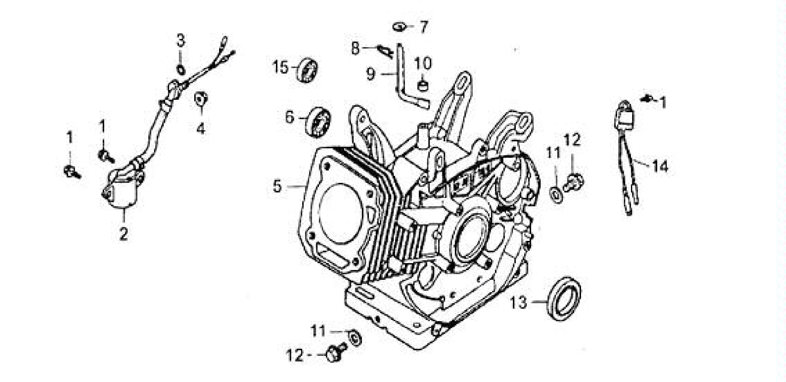 Cylinder Barrel on Honda Gx390 Parts Diagram