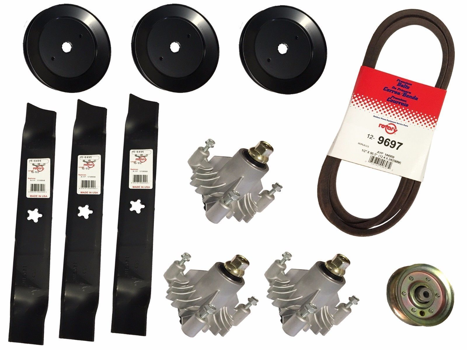"CRAFTSMAN 46"" Deck Rebuild Kit AYP Sears 144959 170698 153531"