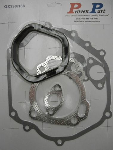 Complete Gasket Kit for Honda GX340 and GX390