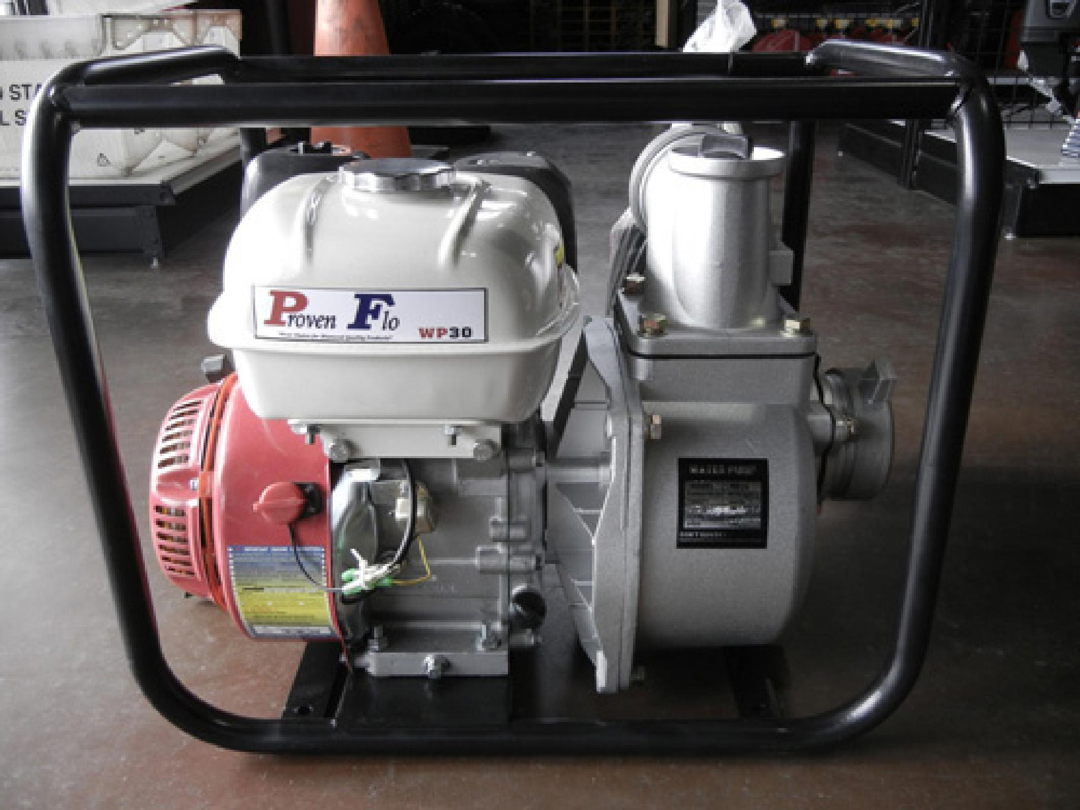 Pf30G 3Inch,With 6.5Hp Engine
