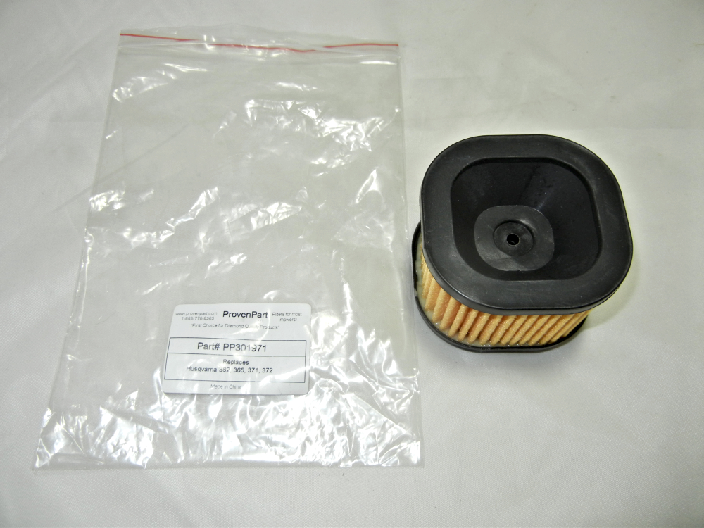 Air filter for Husqvarna 371, 372, 362, 365 chainsaw