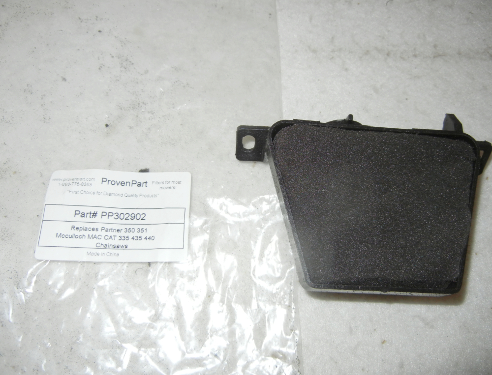 Air filter complete with housing for PARTNER 350 351 MCCULLOCH