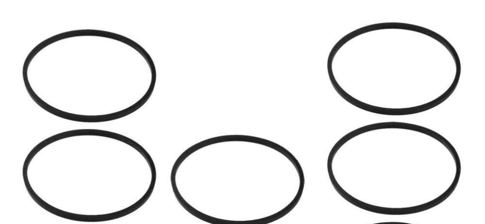 Pack of 5 carburetor float bowl gaskets replace Briggs 693981