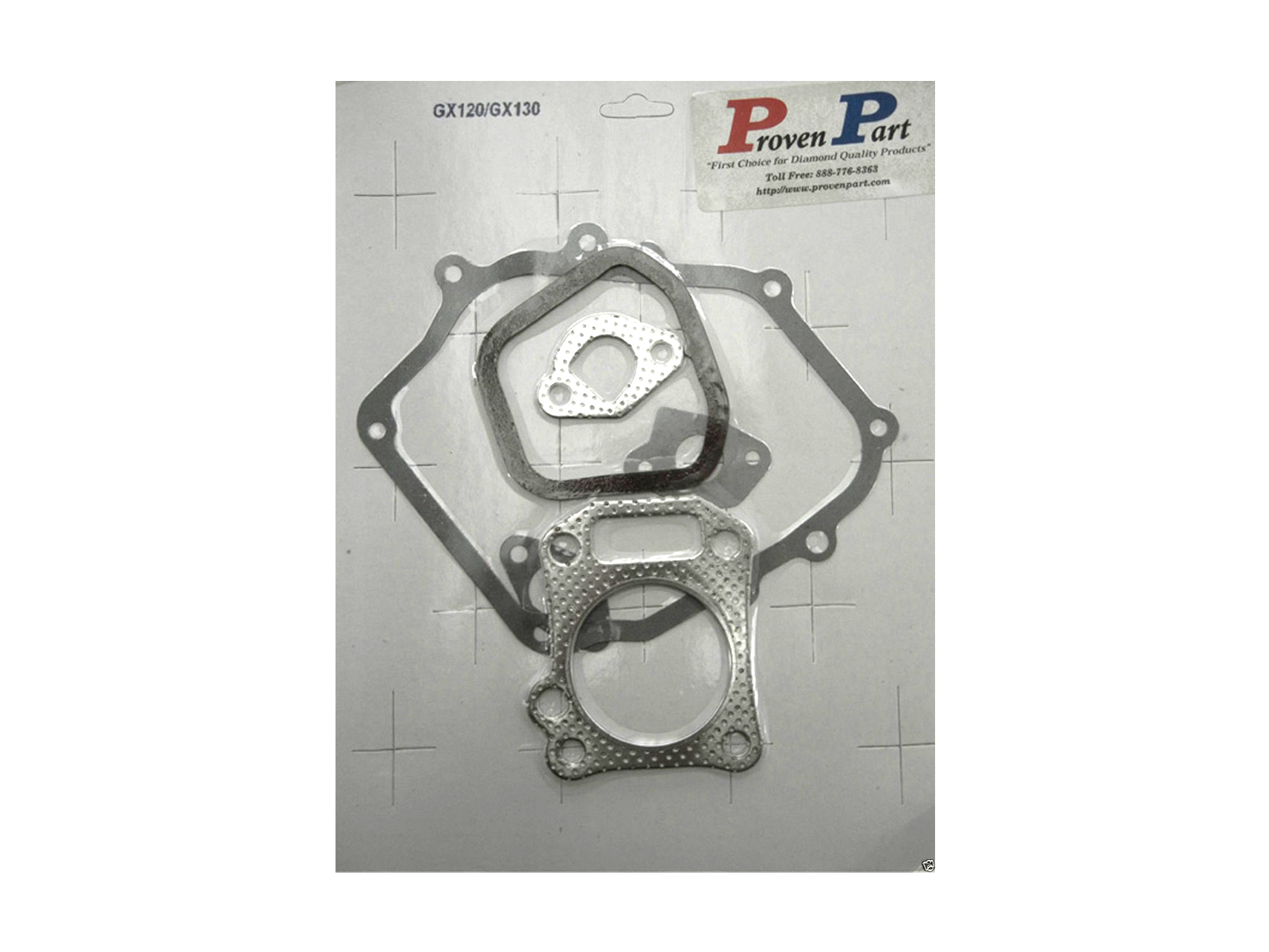 Proven Part GX120 Complete Gasket Set