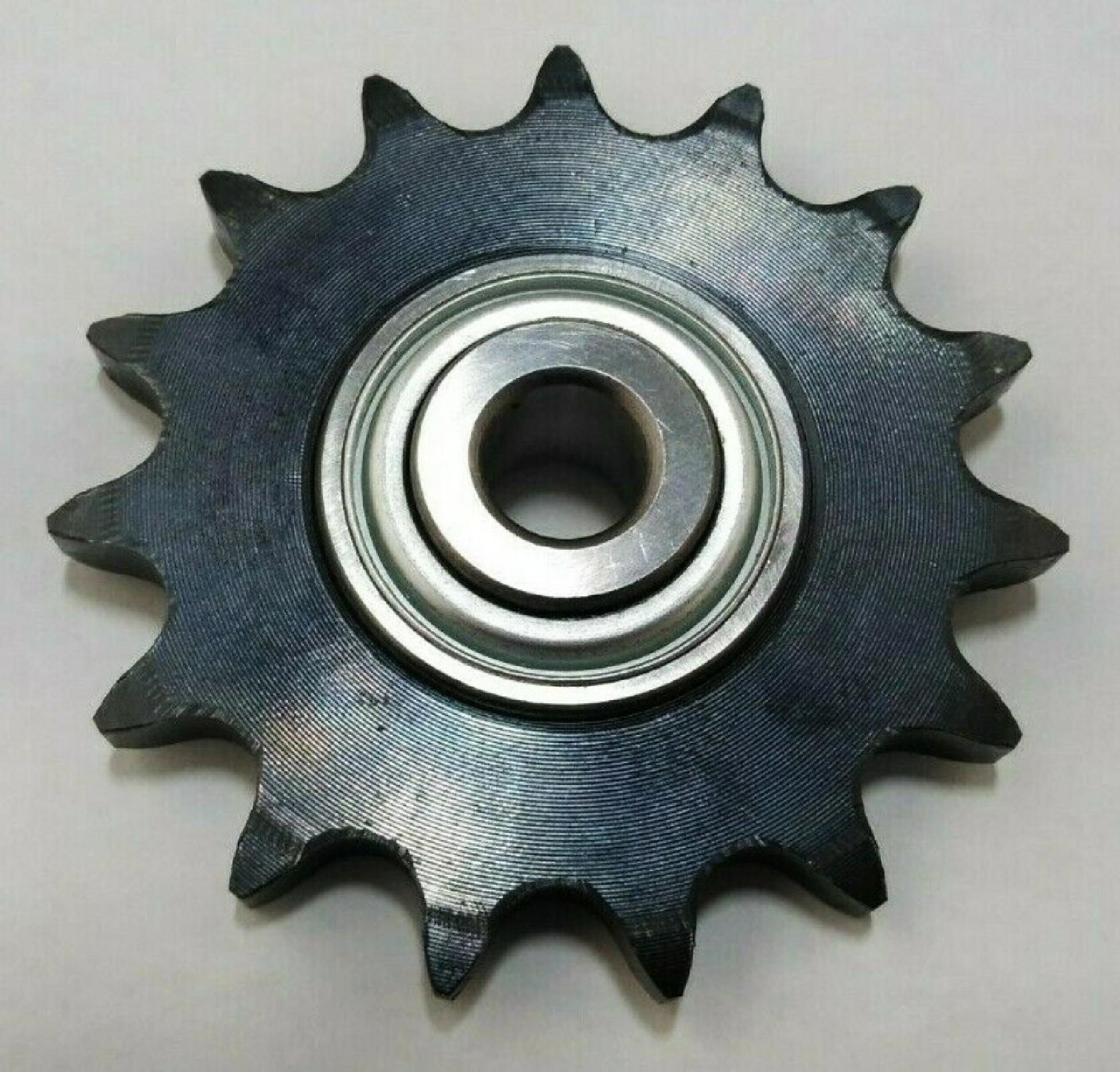 "Roller chain idler sprocket 15 teeth 1/2"" bore replaces 126-9108"
