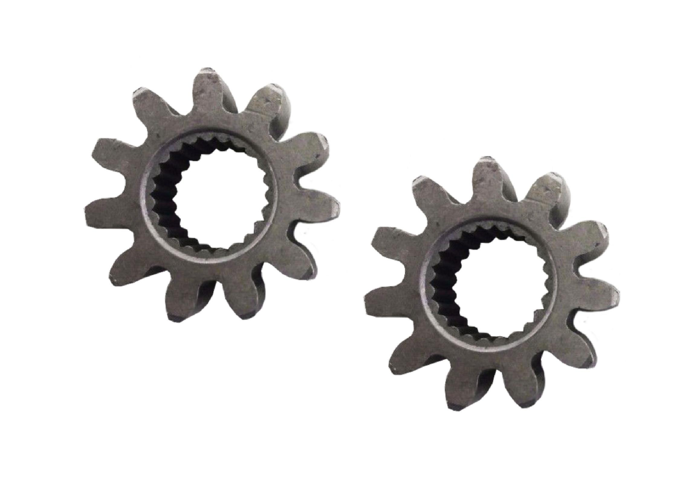 Set of 2 replacement steering pinion gears Cub Cadet 717-1554