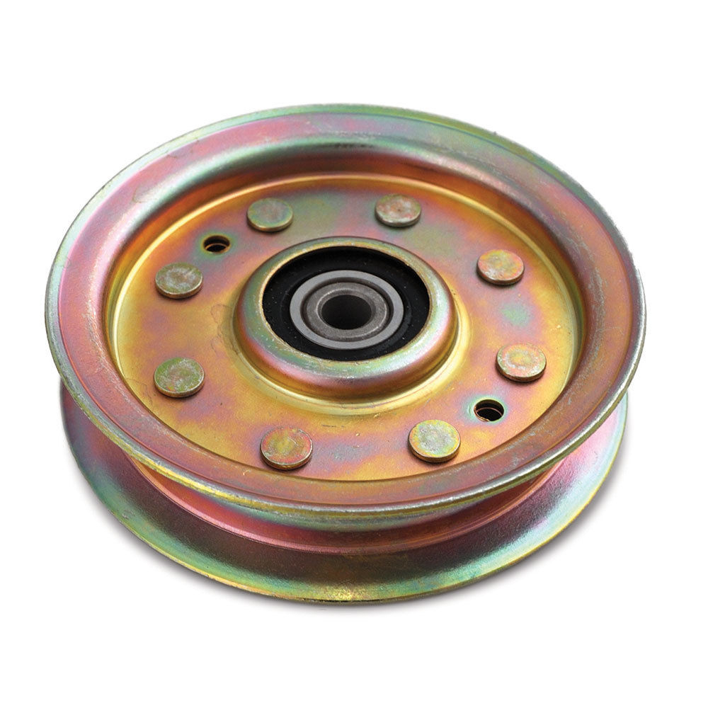 "Flat Idler Pulley 3-5/8"" OD For AYP 175820"