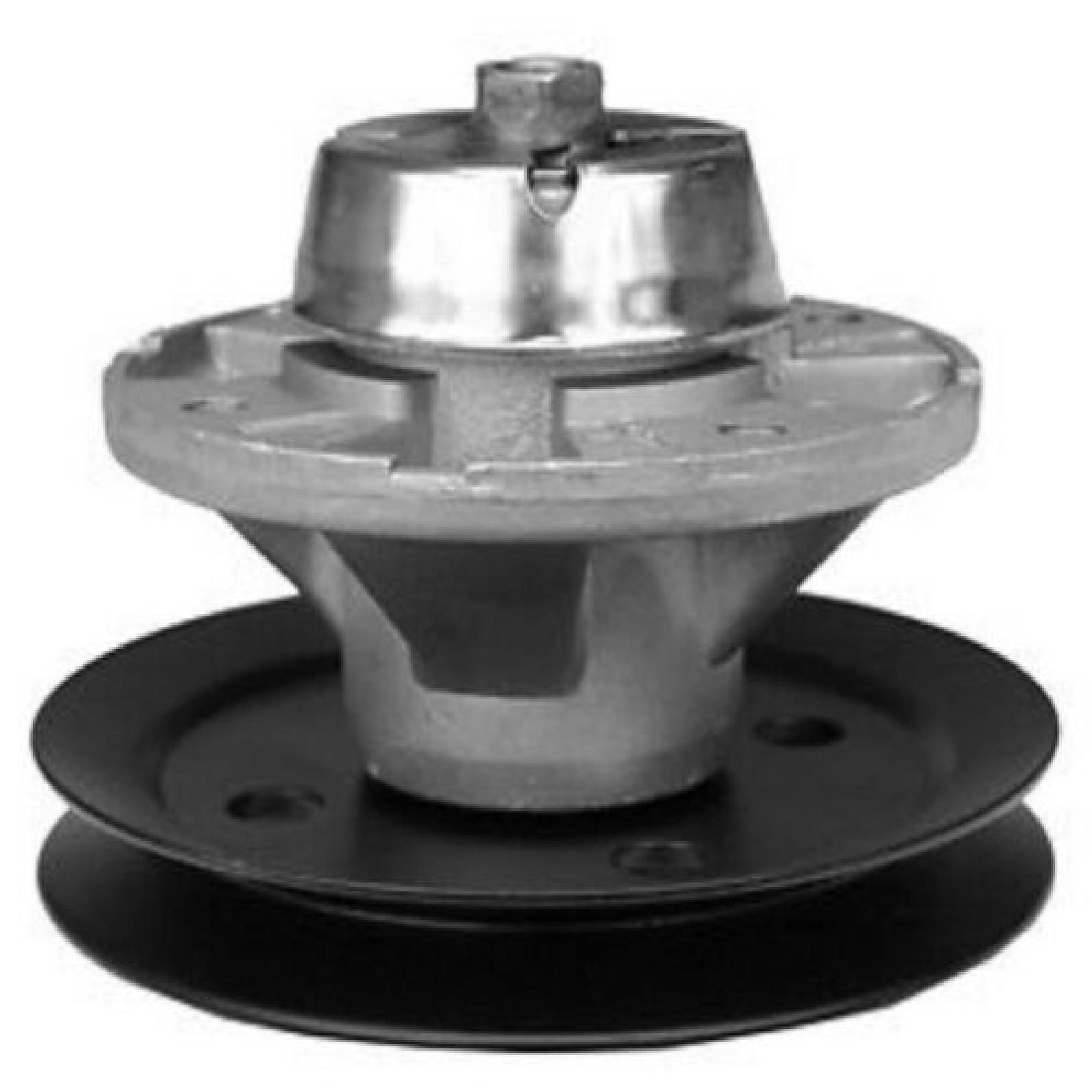 Spindle with pulley replaces John Deere AM121229 82-333