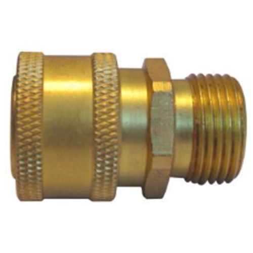 "QUICK COUPLERS 3/8""MALE BRASS"