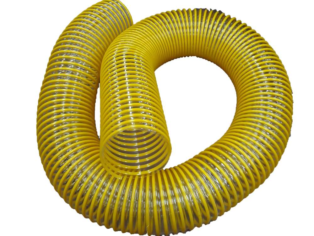 "Hose 5"" x 8' fits Billy Goat VQ-Series 830258 .030 urethane"