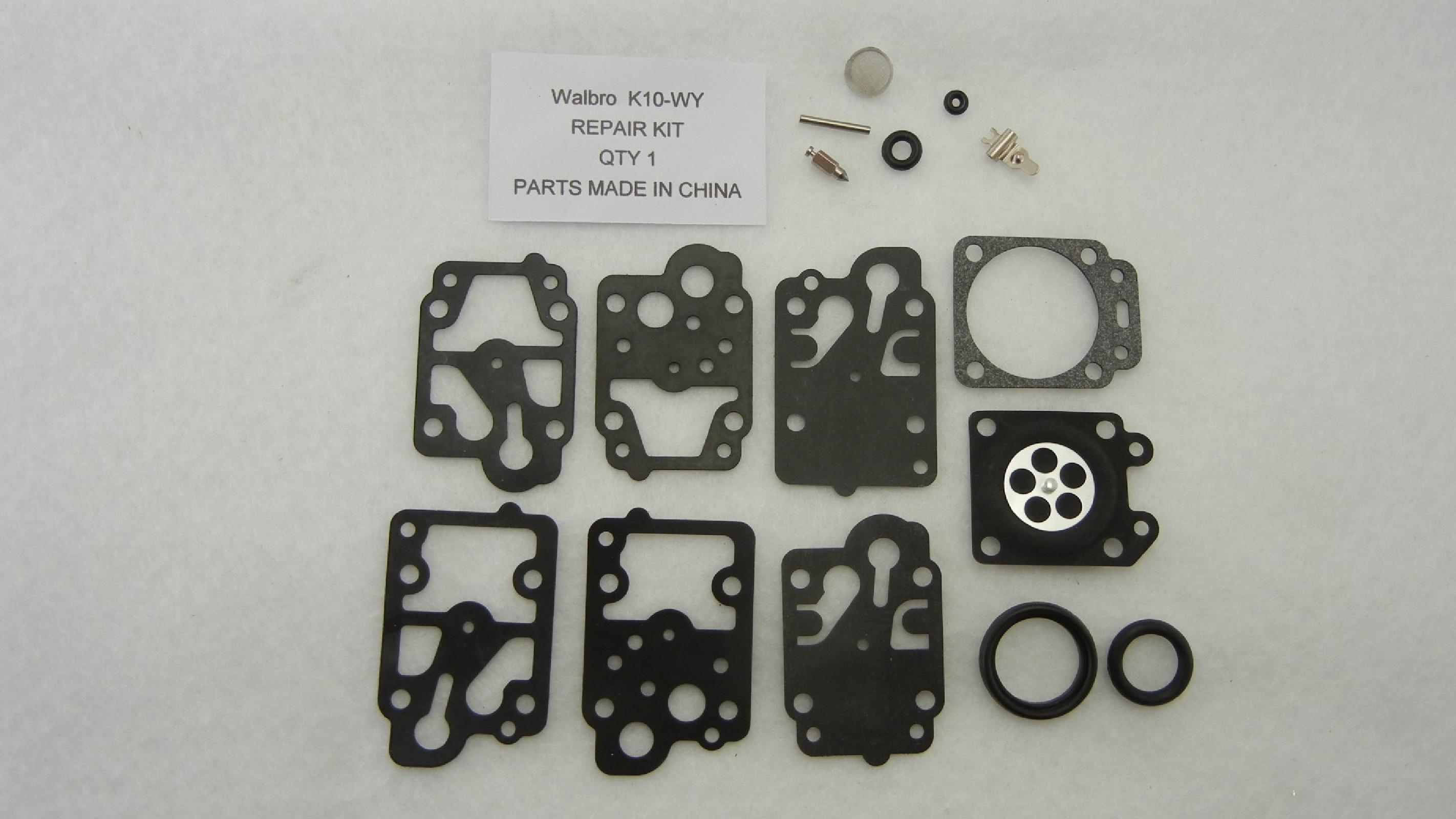 Walbro K10-WY Carburetor Rebuild Kit