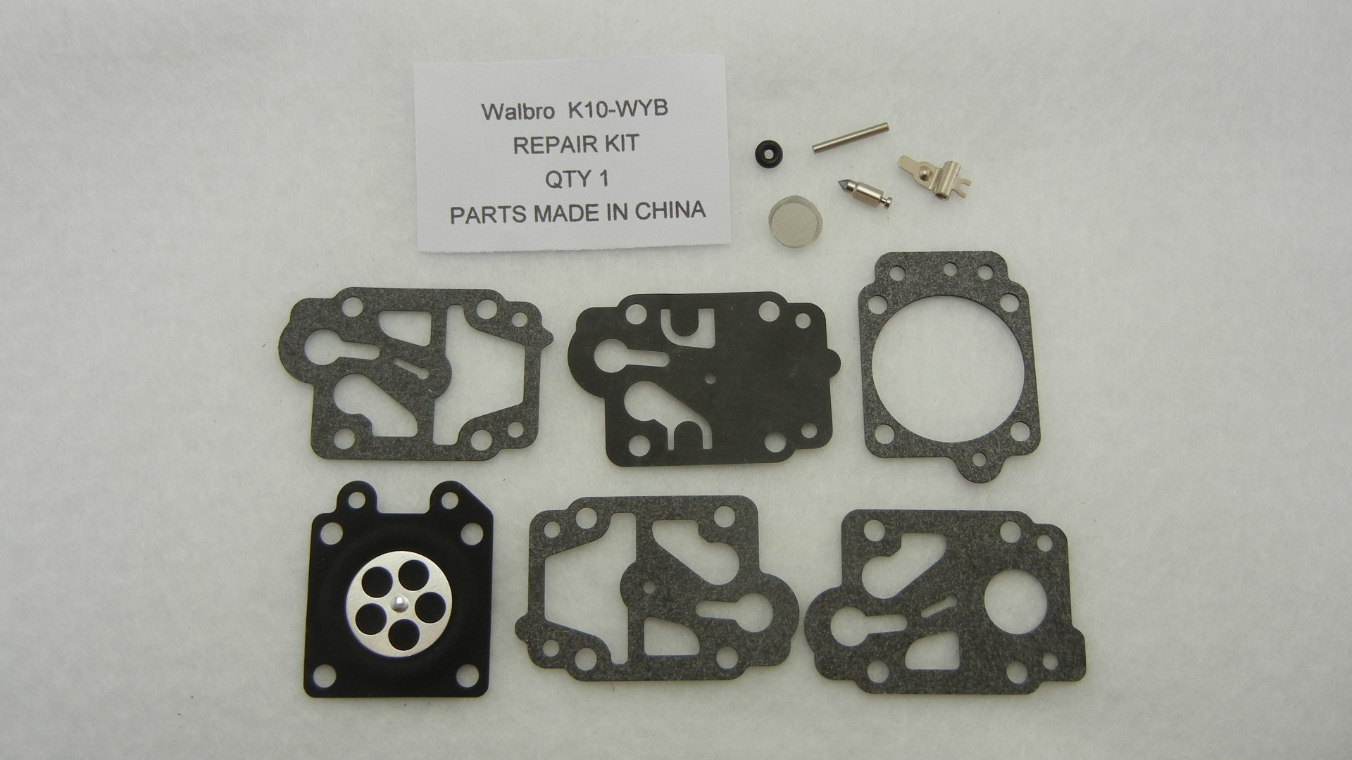 Carburetor gaskets and diaphragm kit replace Walbro K10-WYB