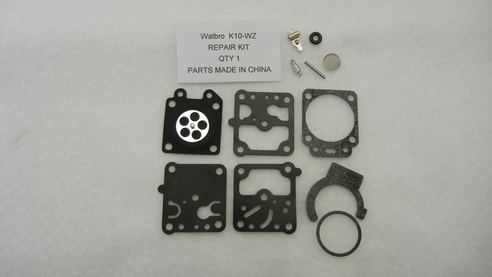 Walbro K10-Wz Carburetor Rebuild Kit