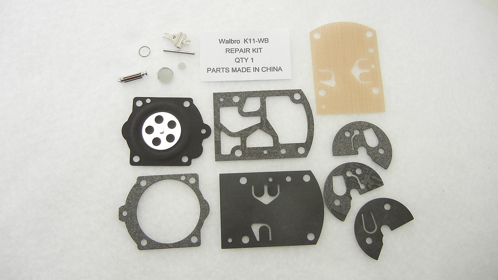 Walbro K11-WB Carburetor Rebuild Kit