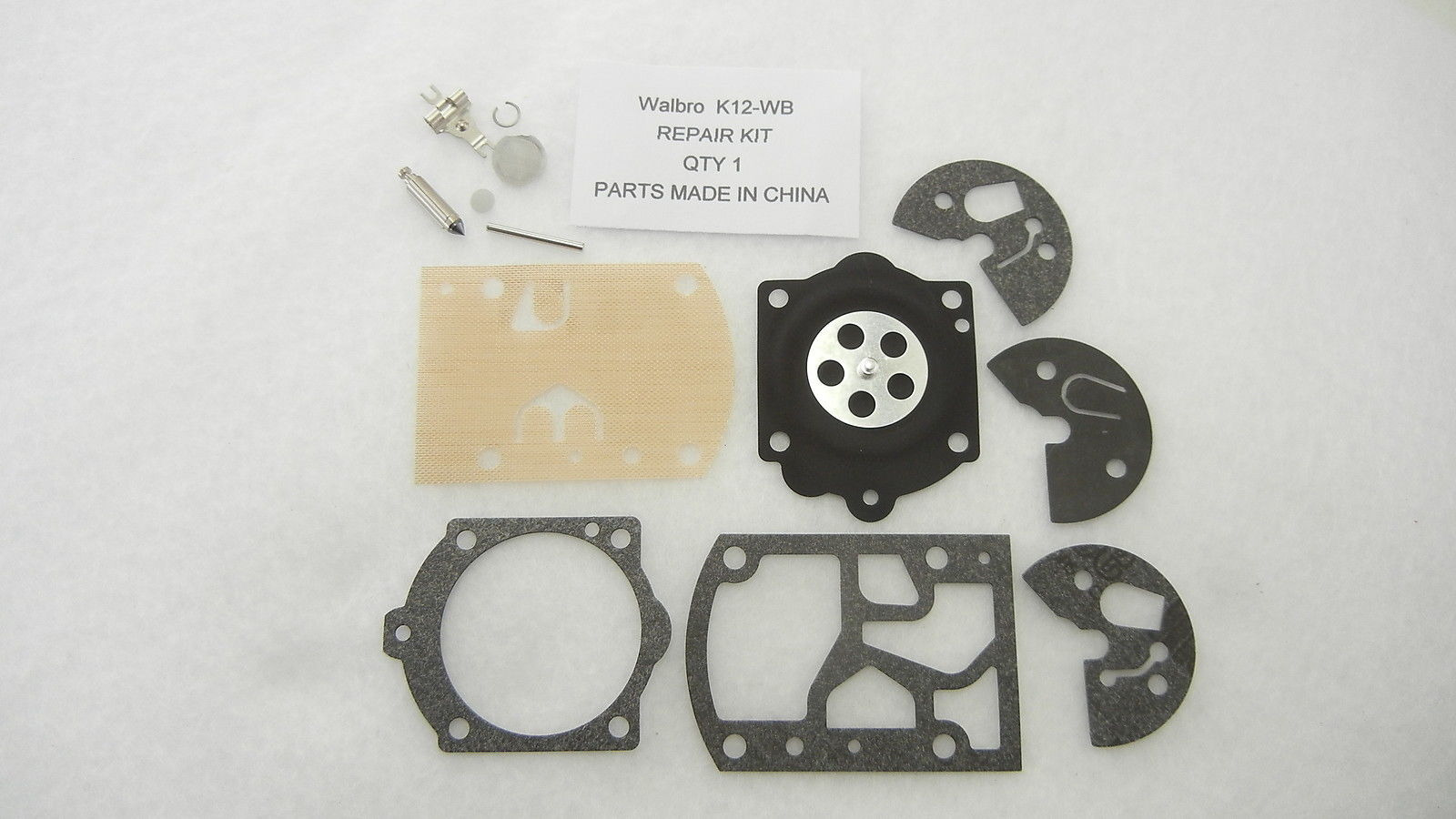 Carburetor rebuild kit K12-WB