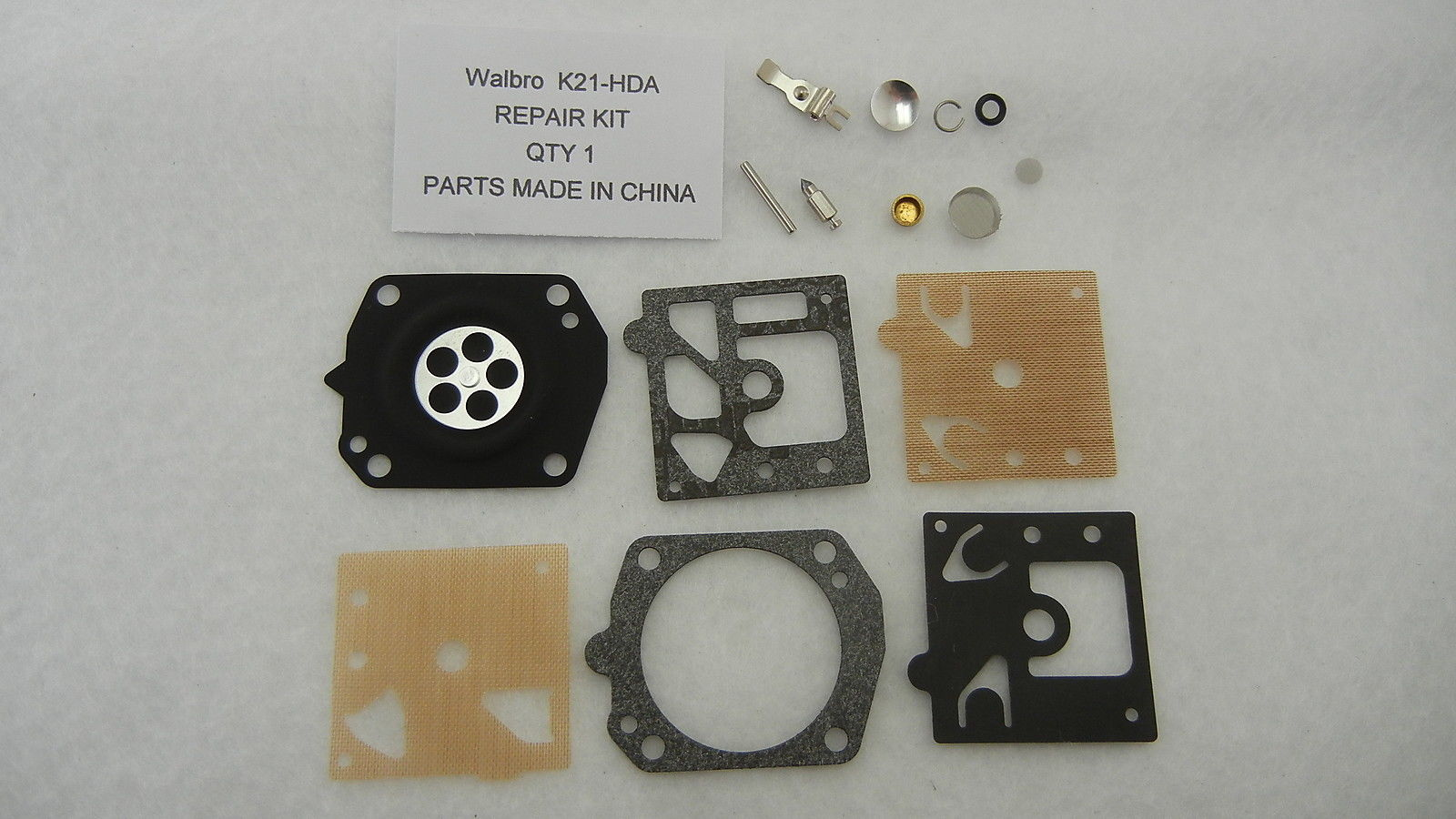 Walbro K21-HDA Carburetor Rebuild Kit