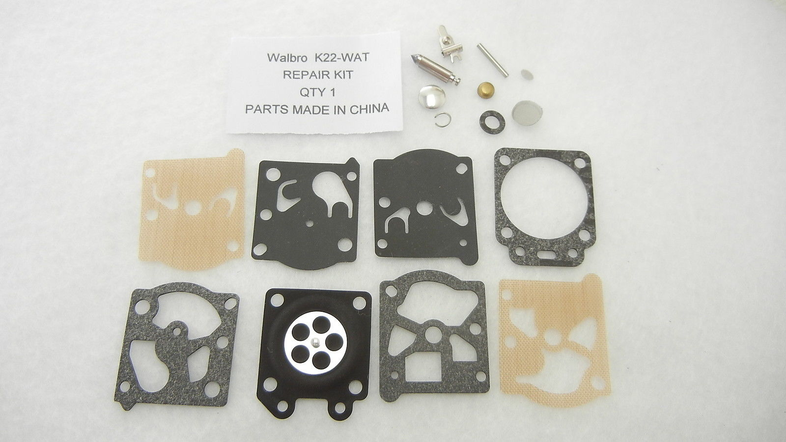 Walbro K22-WAT Carburetor Rebuild Kit