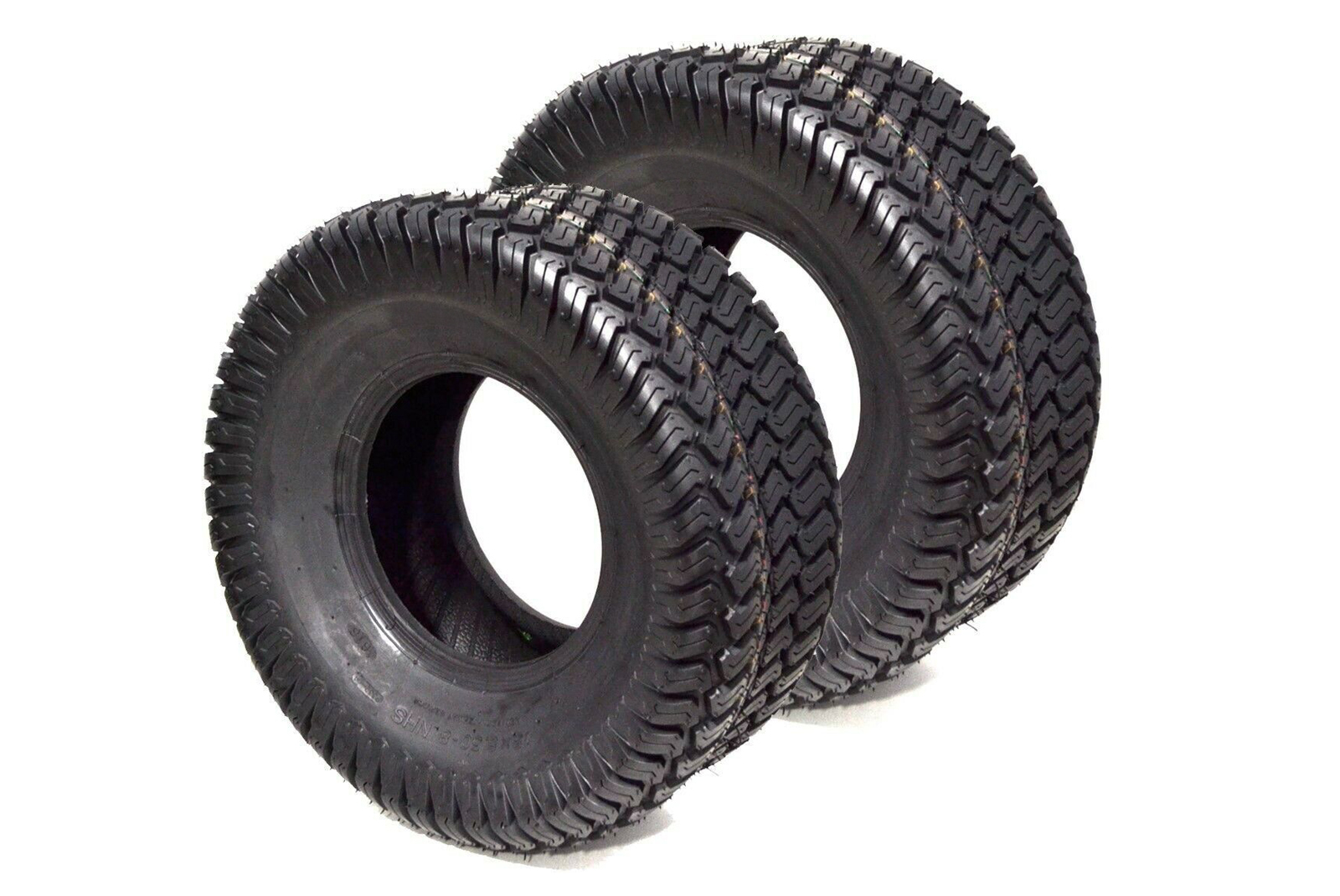 Set of 2 ProMaster 13X6.5-6 lawn mower tubeless tires 4 Ply