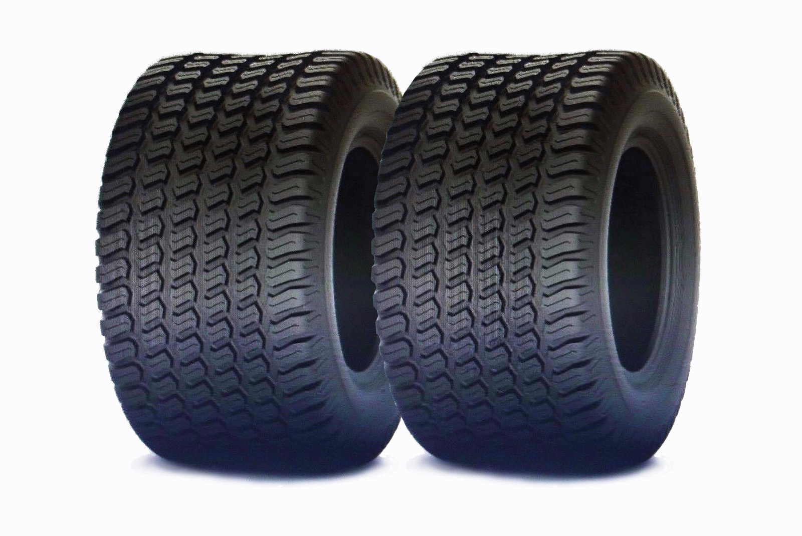Set of 2 riding mower tractor Promaster tires 4 Ply 18X8.50-10
