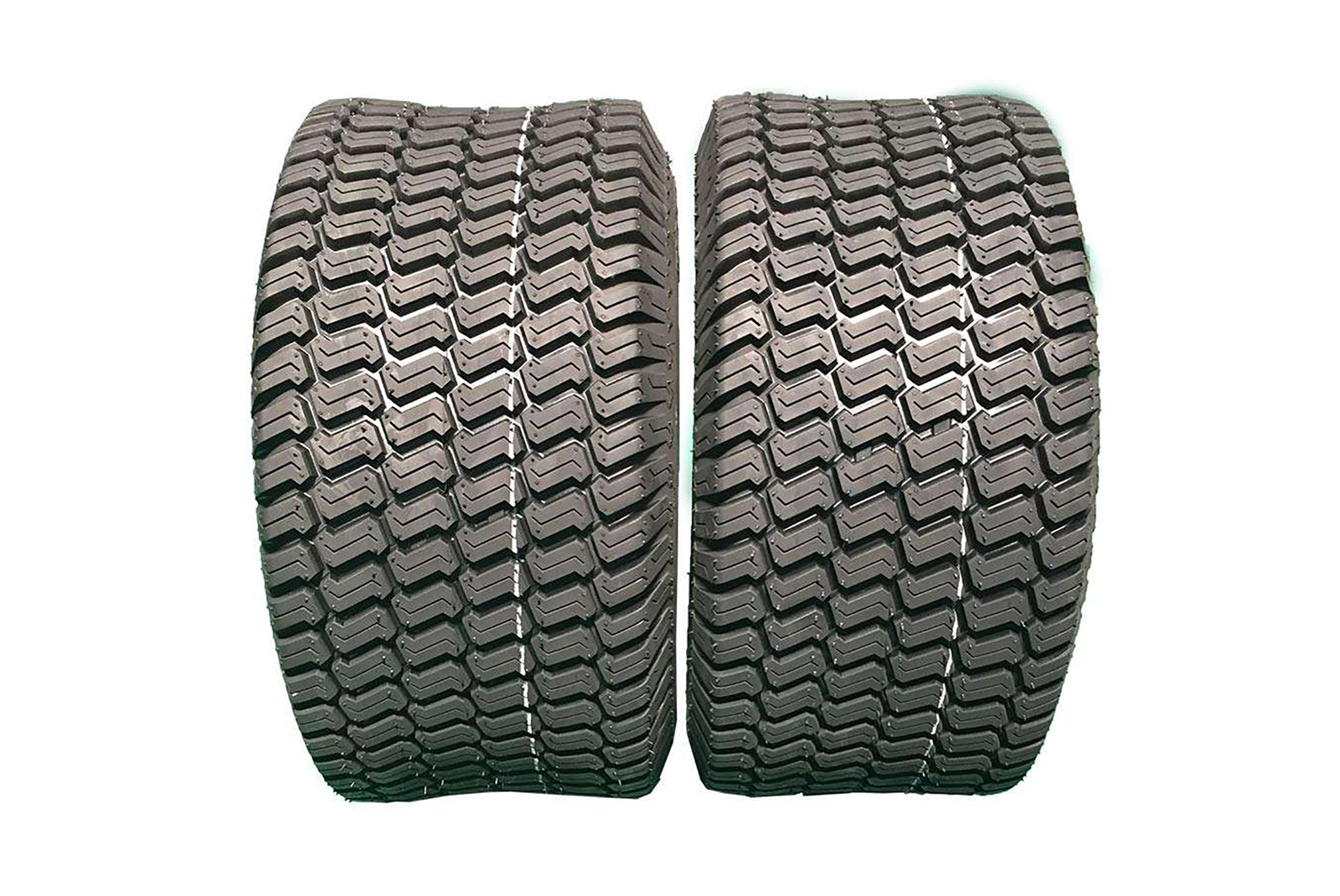 Set of 2 riding mower tubeless 4 ply tires 18x9.50-8