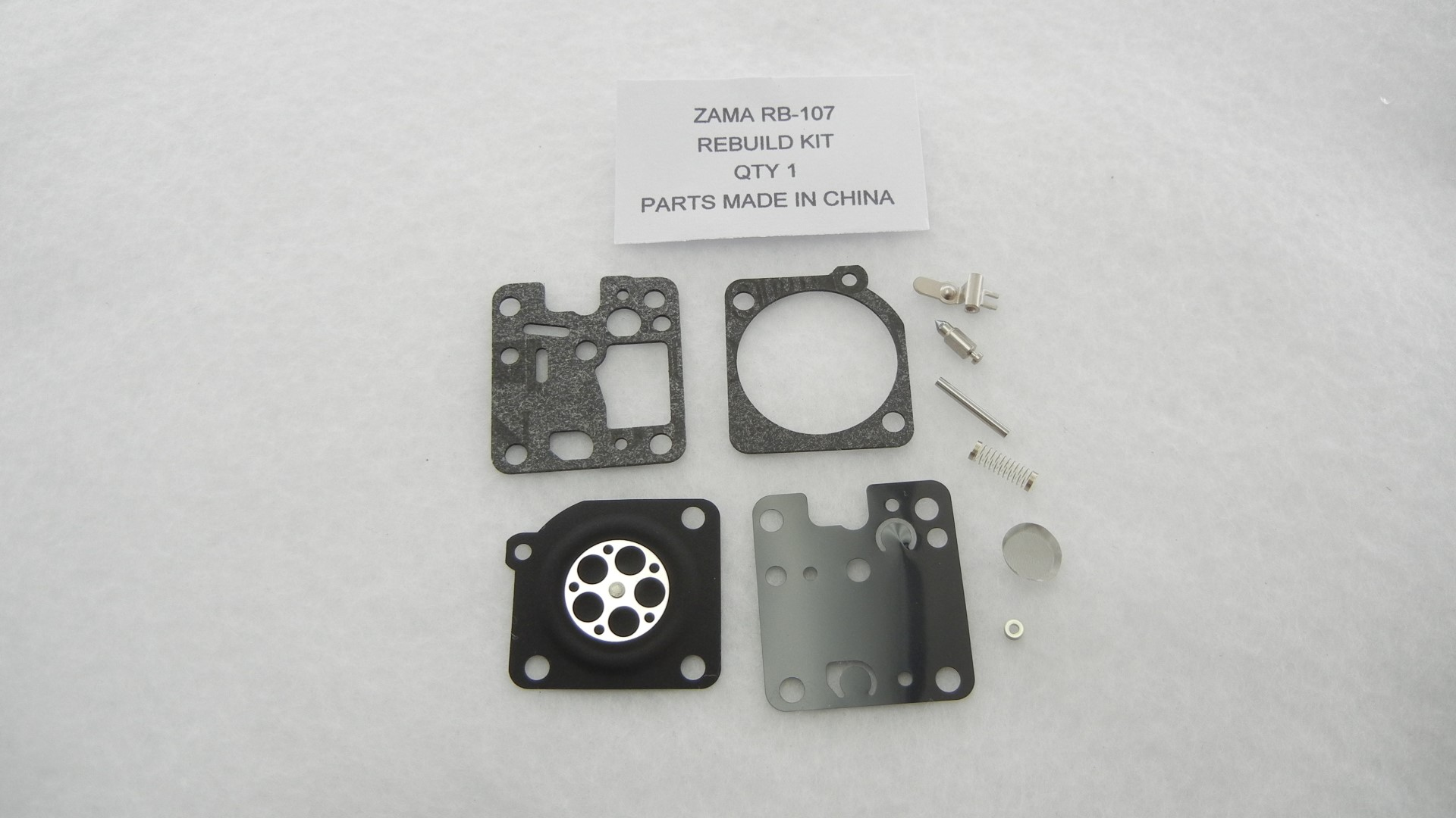 Zama RB-107 Carburetor Rebuild Kit