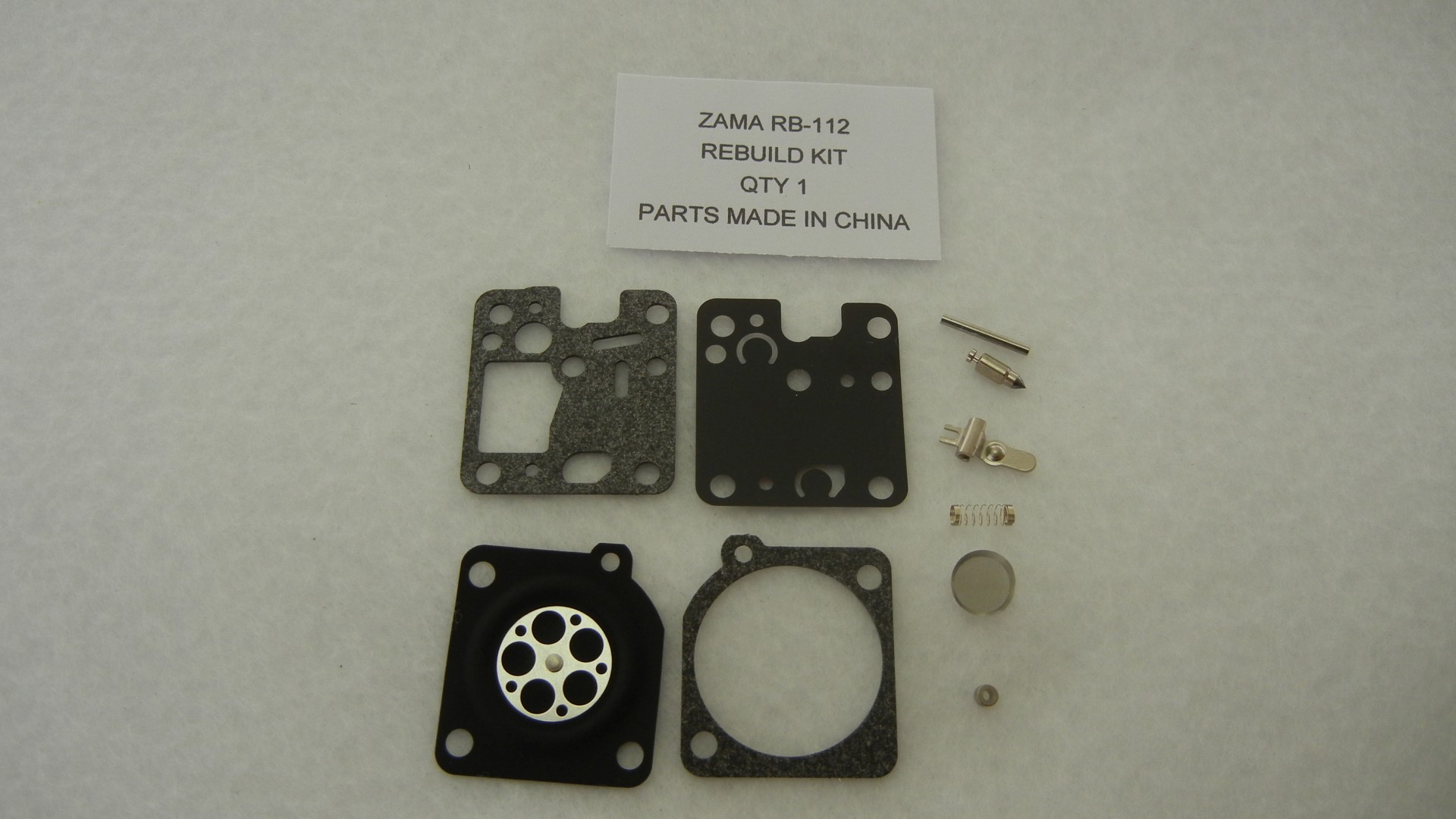 Zama RB-112 Carburetor Rebuild Kit