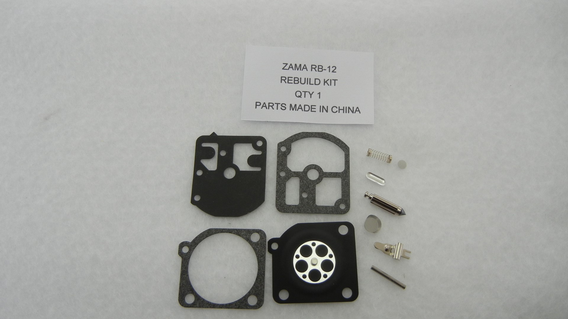 Zama RB-12 Carburetor Rebuild Kit