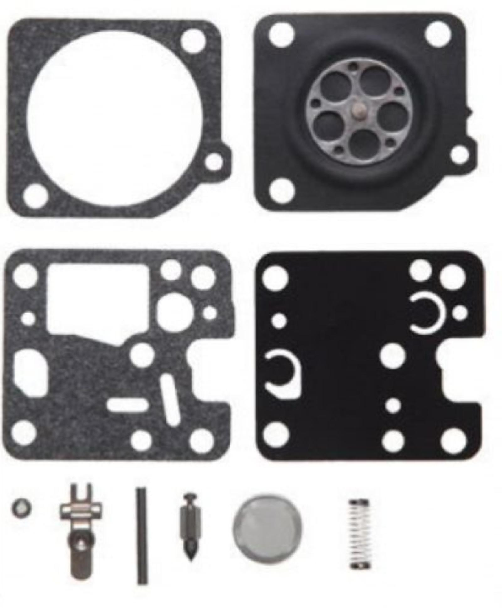 Replacement carburetor gasket and diaphragm kit Zama RB-123