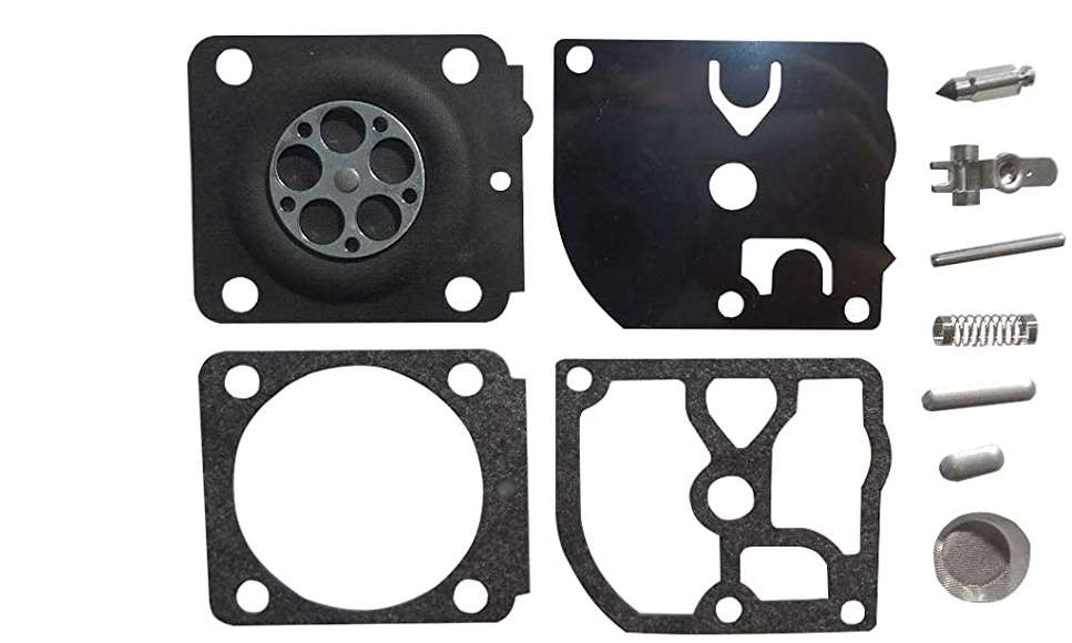 Replacement carburetor repair rebuild kit Zama RB-161 RB-100