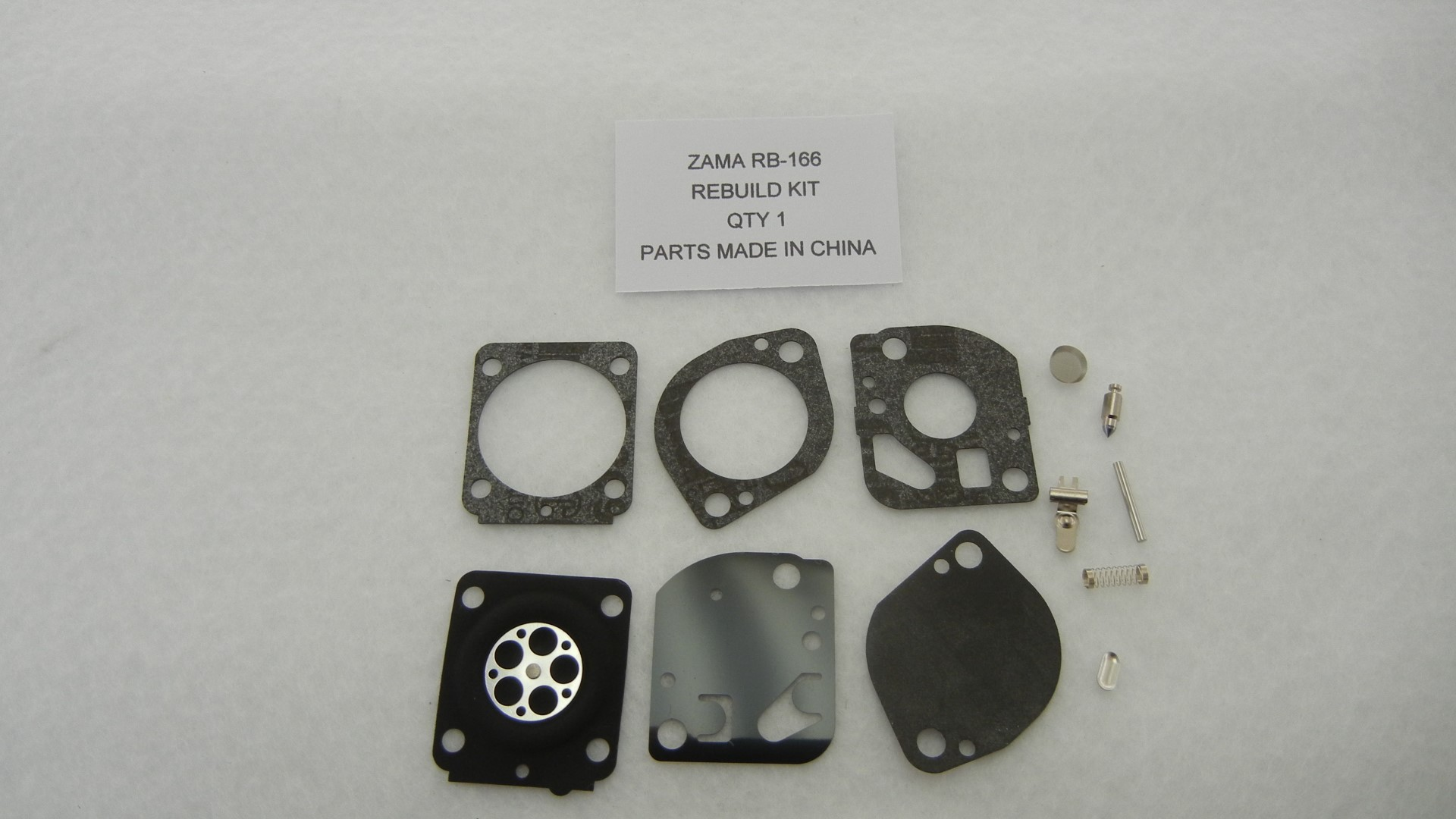 Zama RB-166 Carburetor Rebuild Kit