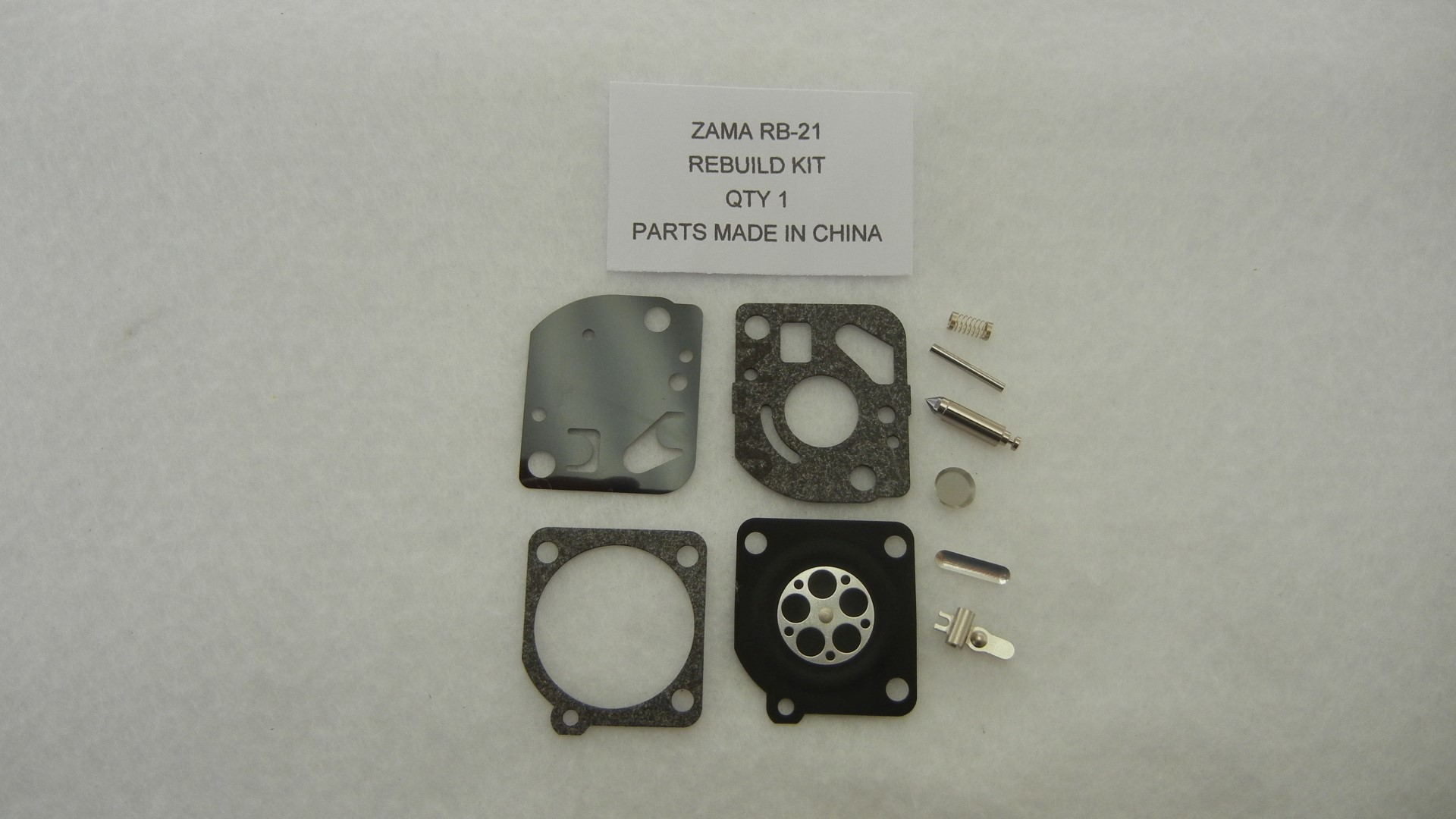 Zama RB-21 Carburetor Rebuild Kit
