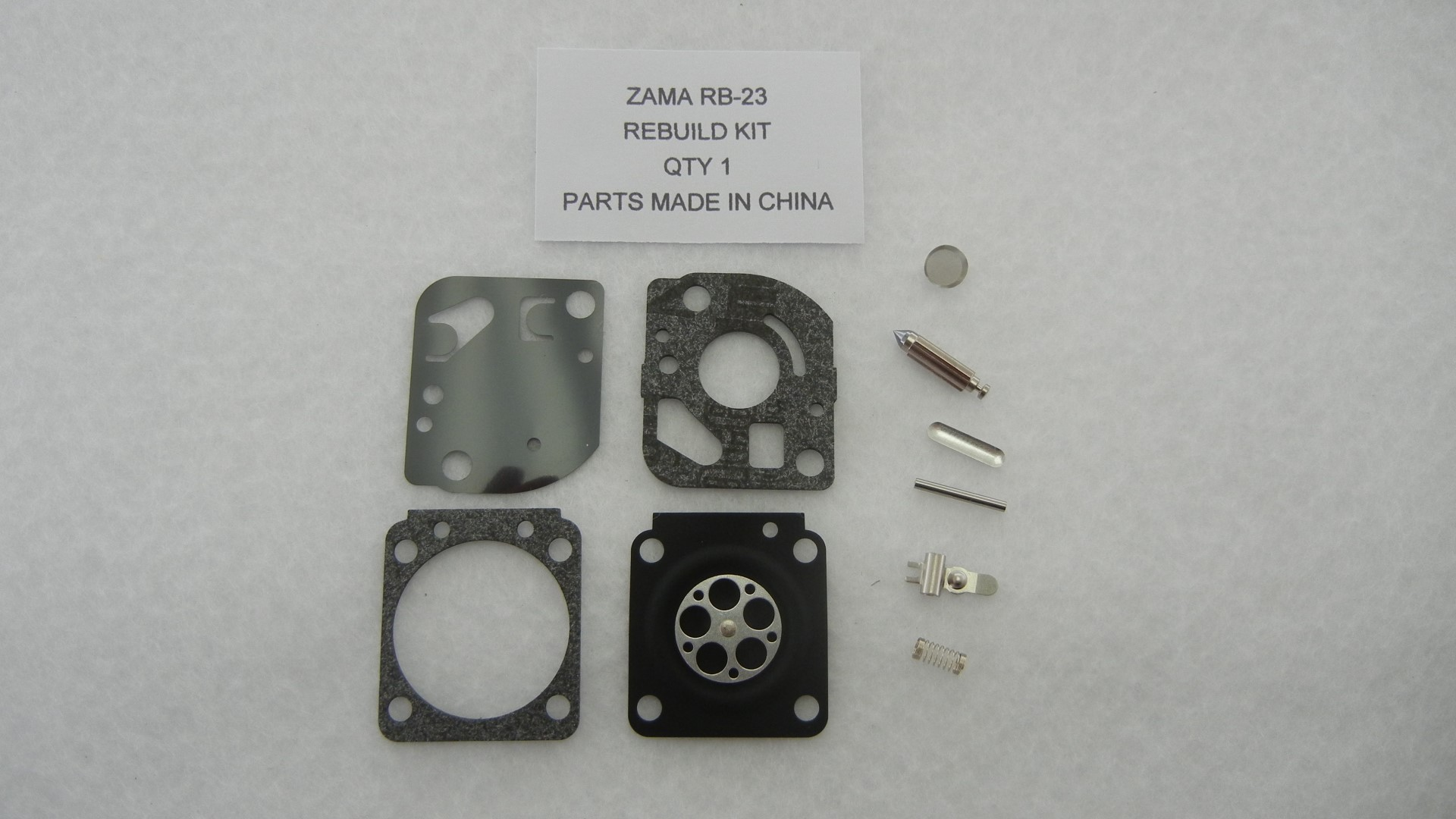 Carburetor Rebuild Kit for Zama RB-23 (Echo HC1500,SV-4B,PB300E