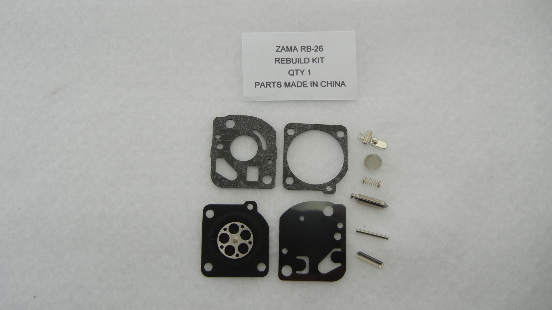 Zama RB-26 Carburetor Rebuild Kit