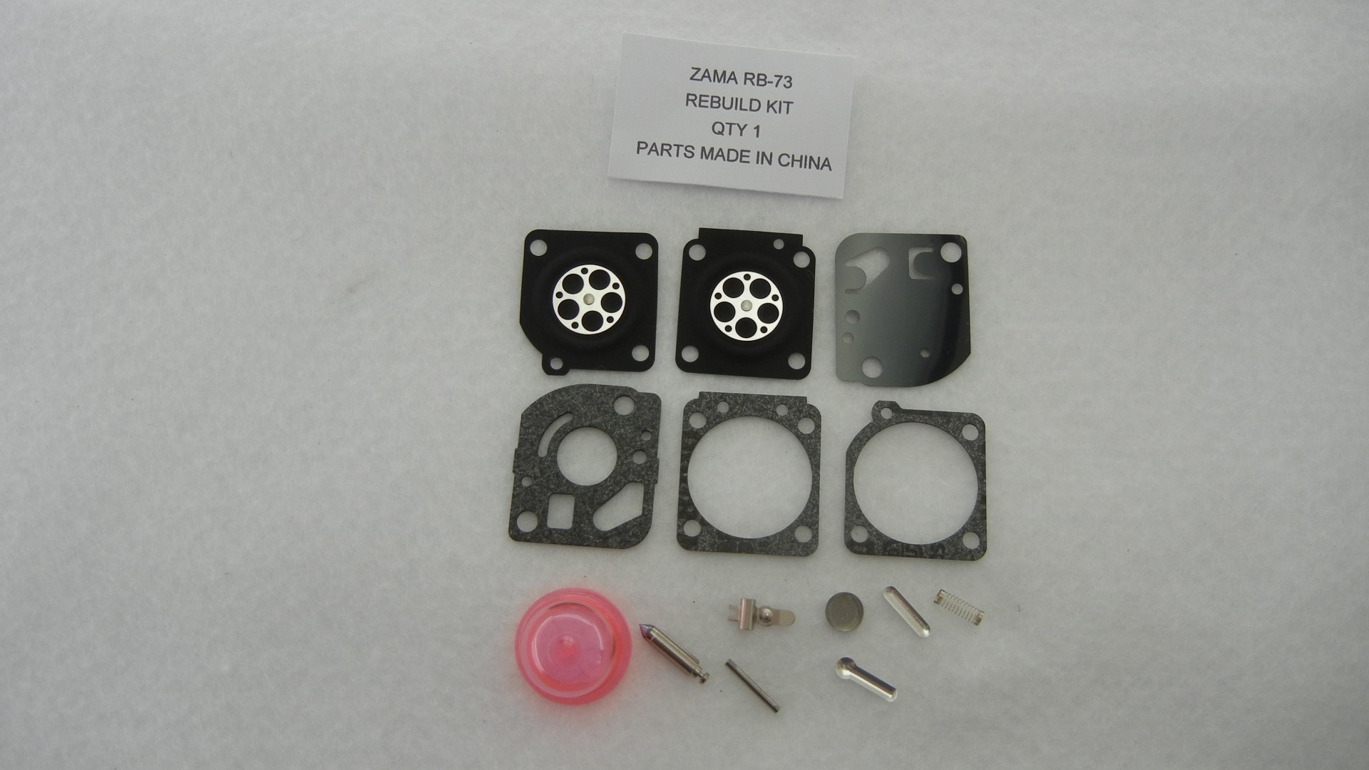 CARBURETOR KIT FOR ZAMA RB-73 REPLACES OEM RB-73 C1U-W4 C1U-W47A