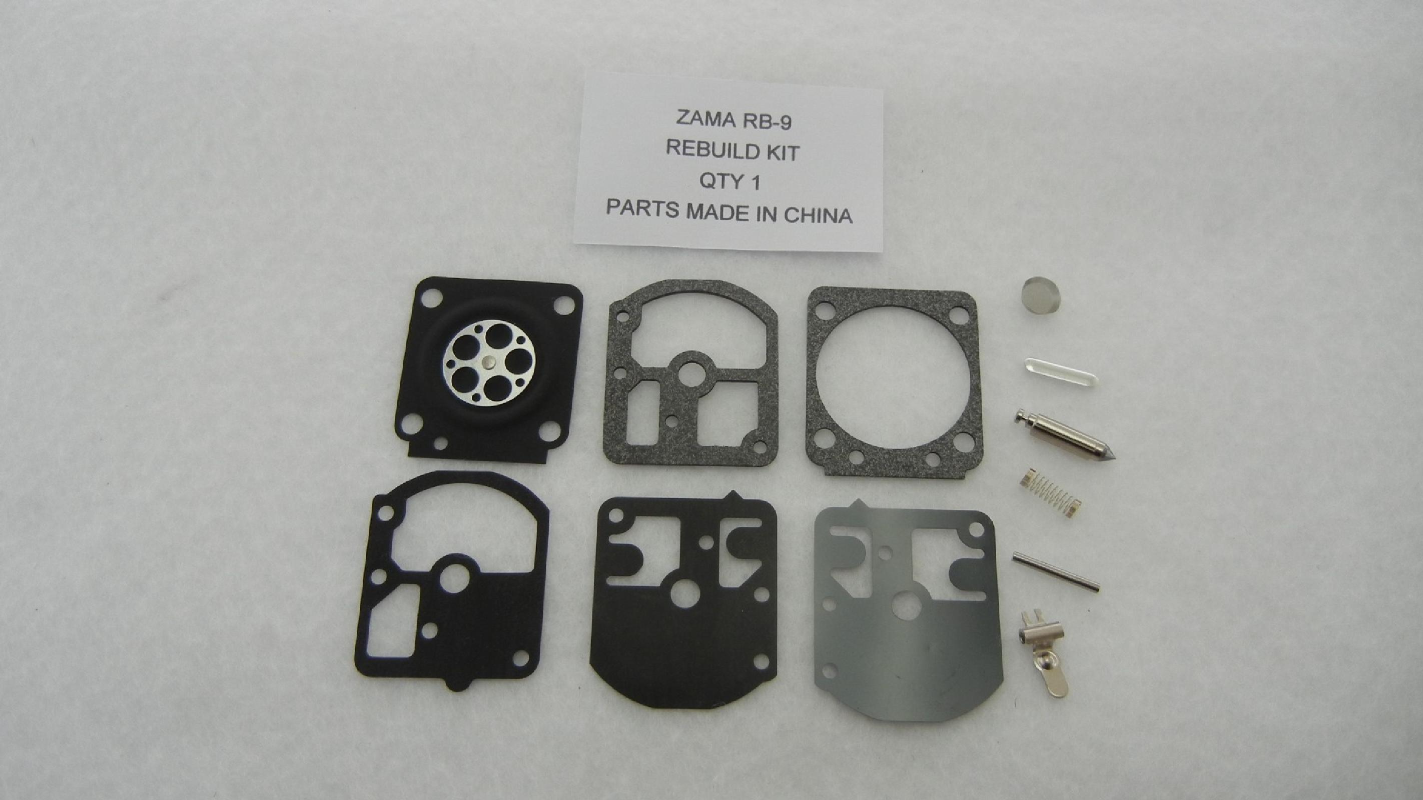 Zama RB-9 Carburetor Rebuild Kit