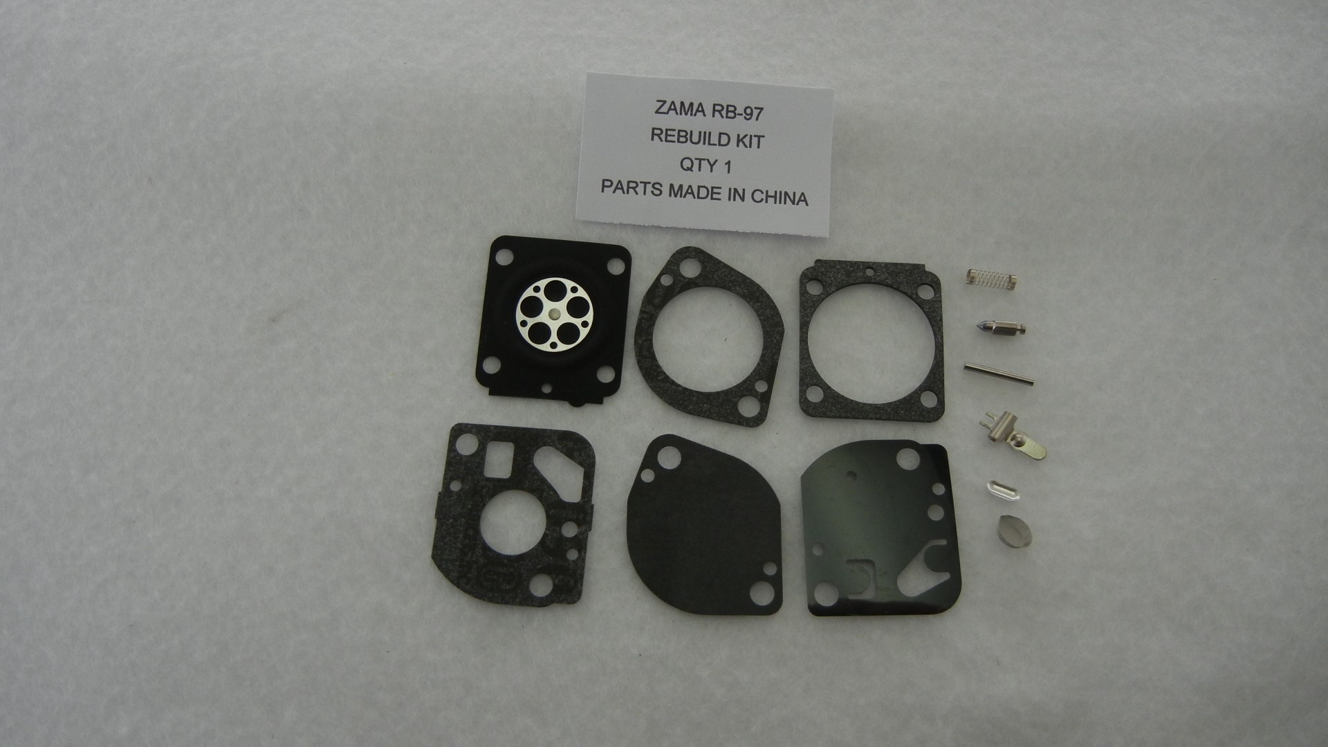 Zama RB-97 Carburetor Rebuild Kit