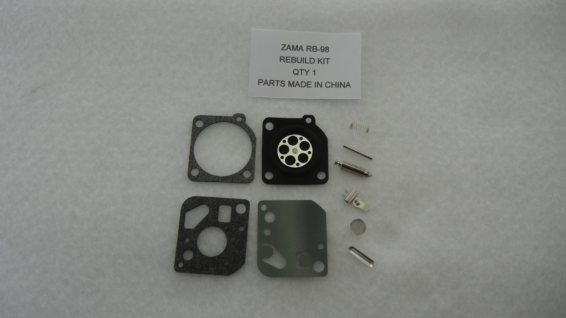 Zama RB-98 Carburetor Rebuild Kit